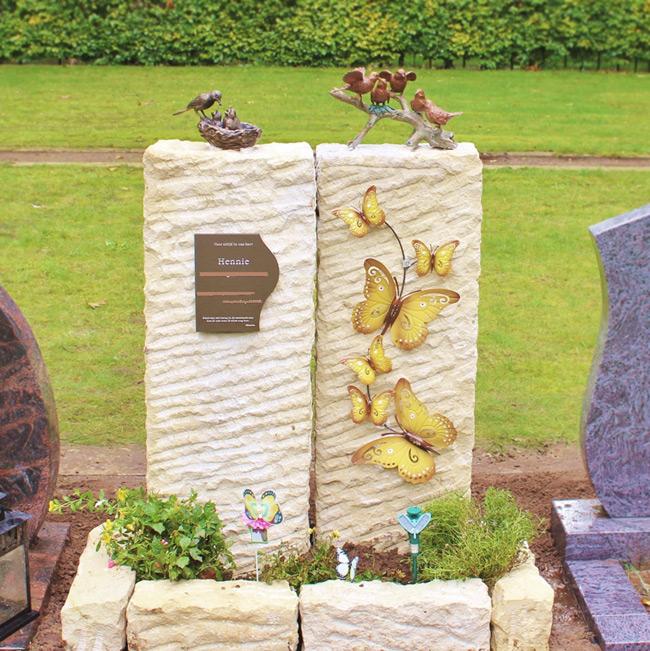 Grafstenen van Zandsteen